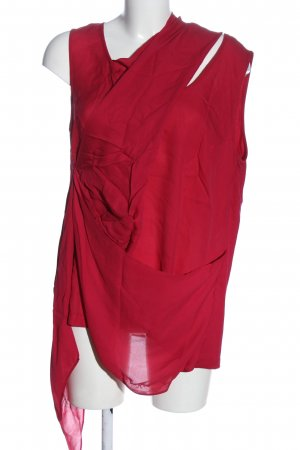 Laurèl Sleeveless Blouse red casual look