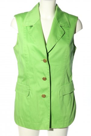 Laurèl Anzugweste grün Casual-Look