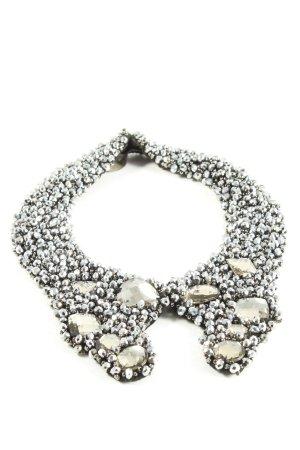 Laurèl Colletto camicia argento stile casual