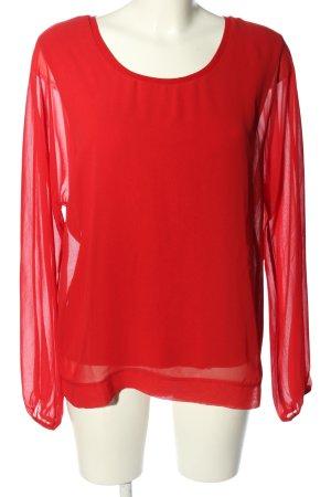 Laurèl Blouse topje rood zakelijke stijl