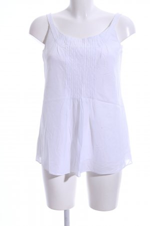 Laurèl Blouse topje wit casual uitstraling