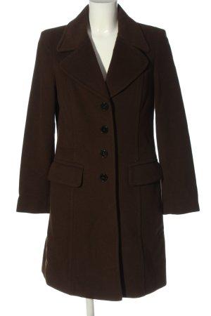 Laurèl Długi płaszcz brązowy W stylu casual