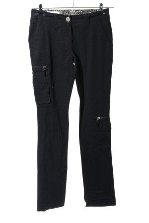 Laurèl Pantalon cargo noir style décontracté