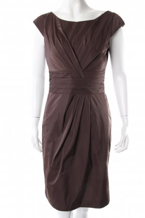 Laurèl Cocktail Dress brown red