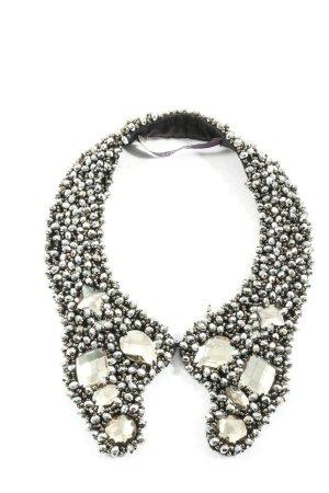 Laurèl Collier Necklace black-silver-colored elegant