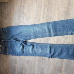 Laurèl Five-Pocket Trousers blue cotton