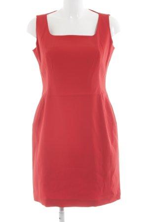 Laurèl Sheath Dress red acetate