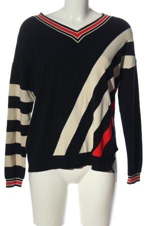Laurèl Fine Knit Jumper striped pattern casual look