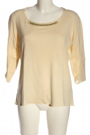 Laurèl Feinstrickpullover creme Casual-Look