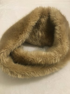 Laurèl Tube Scarf camel polyester