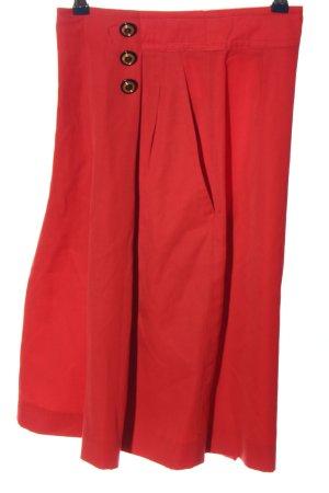 Laurèl Gonna culotte rosso stile casual