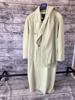 Laurèl Manteau en laine vert pâle cachemire