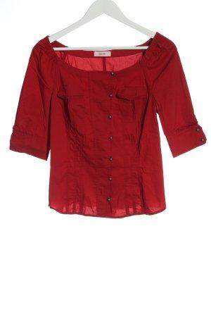 Laurèl Camicia blusa rosso stile casual