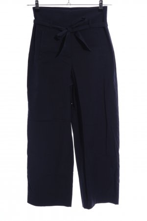 Laurèl Pantalon taille haute bleu style d'affaires