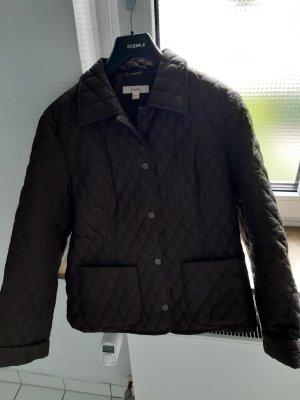 Quilted Jacket dark brown