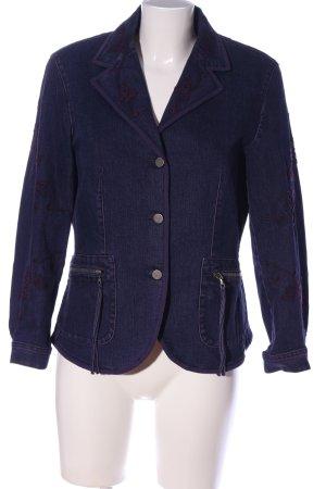 laurel jeans Jeansjacke blau Casual-Look