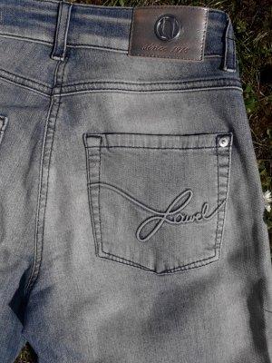 Laurèl Jeans svasati blu pallido Cotone