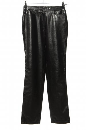 laurel jeans Leather Trousers black casual look