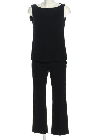 Laurèl Twin set in jersey nero stile casual
