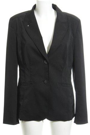 Laurèl Jersey blazer zwart zakelijke stijl