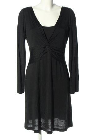 Laurèl Jerseykleid schwarz Casual-Look