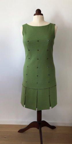Laurèl Woolen Dress green wool