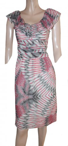 Laurèl Summer Dress multicolored silk