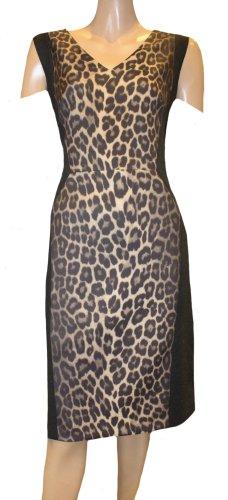 Laurèl Pencil Dress dark grey-brown polyester