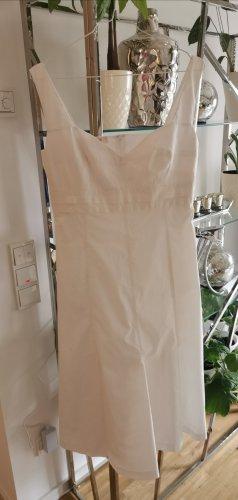 Laurèl Pinafore dress white