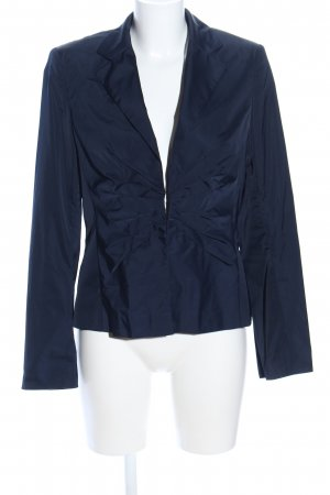 Laurèl Korte blazer blauw casual uitstraling