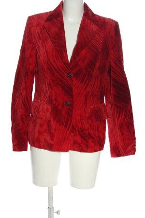 Laurèl Korte blazer rood-zwart zakelijke stijl