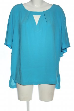 Laurèl Kurzarm-Bluse blau Casual-Look