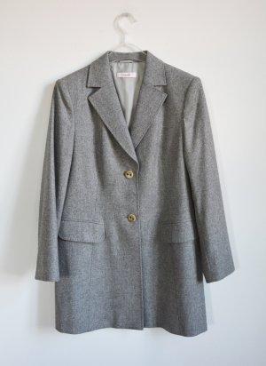 Laurèl Abrigo de lana gris claro-gris lana de angora