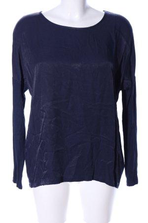 Laurèl Langarm-Bluse blau Casual-Look