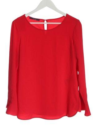 Laurèl Camicetta a maniche lunghe rosso stile casual