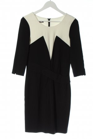 Laurèl Longsleeve Dress black-white business style