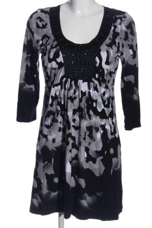 Laurèl Longsleeve Dress abstract pattern casual look