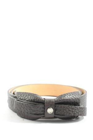 Laurèl Cintura di pelle nero stile casual