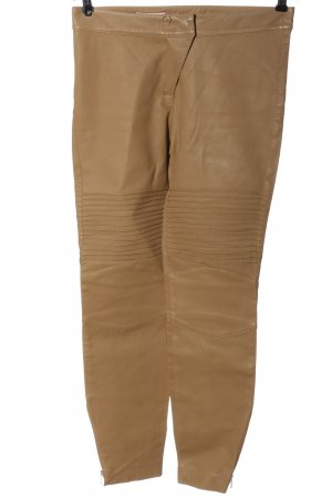 Laurèl Leather Trousers brown casual look