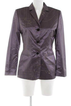Laurèl Lange blazer lila abstract patroon wetlook
