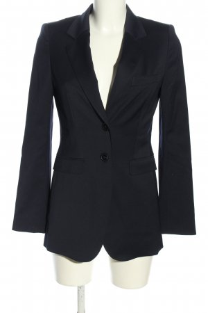 Laurèl Long-Blazer schwarz Business-Look