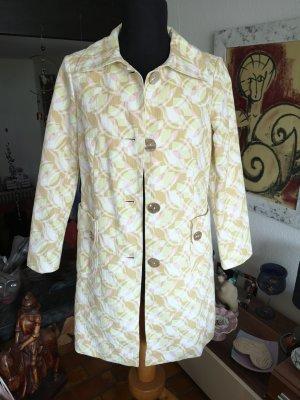 Laurel Mantel Vintage Retro gemustert Pastell Perlmutt