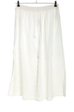 Laurèl Spódnica midi biały W stylu casual