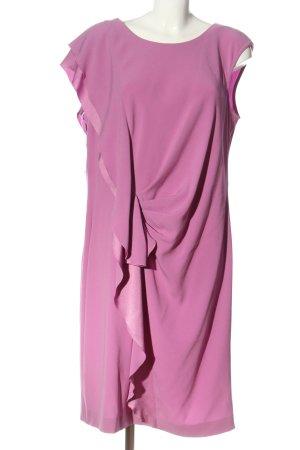 Laurèl Abito a balze rosa elegante