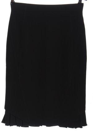 Laurèl Spódnica midi czarny W stylu biznesowym