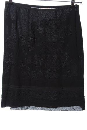 Laurèl Spódnica midi czarny W stylu casual