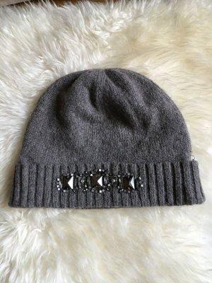 Laurel Mütze aus Kaschmir-Mix mit toller Applikation