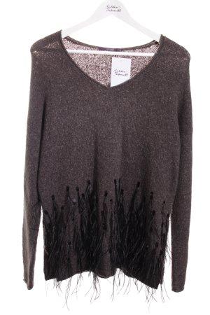 Laurèl Oversized Pullover mehrfarbig