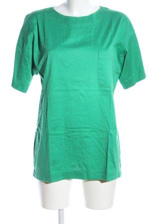 Laurèl Top extra-large vert style décontracté