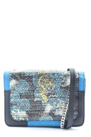 Laurèl Crossbody bag blue-black themed print elegant